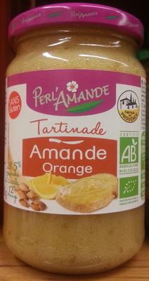 Tartinade amandes et oranges